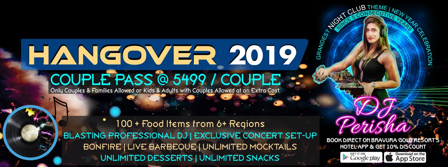 Hangover 2019 Grandest New Year Party in the History of Meerut